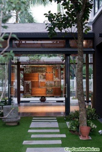 san-vuon-biet-thu-ha-noi-01-372x500 Sân vườn biệt thự đẹp đắt đỏ ở Hà Nội