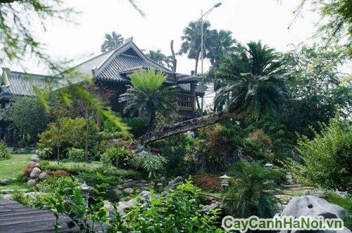 tieu-canh-dep-trong-nha-sao-viet-1-500x331 Tiểu cảnh đẹp trong sân vườn nhà sao Việt