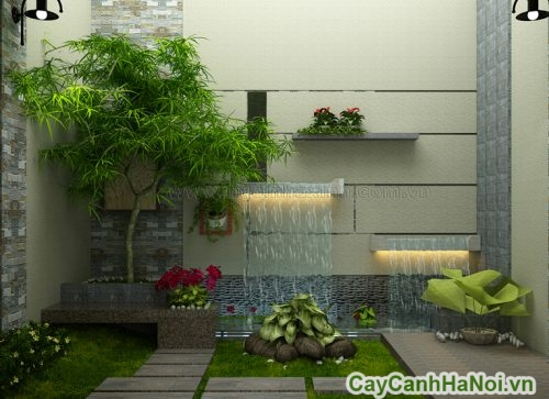 tieu-canh-noi-that-co-nuoc-02-500x363 Tiểu cảnh nội thất có nước mát nhà